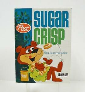 Cereal Box Ebay