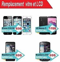 Reparer iPhone6/5/4 iPod touch,vitre,Lcd,screen repair unlock