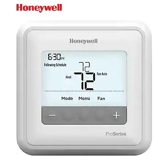 Honeywell T4 Programmable Thermostat TH4110U2005 1H/1C Heat