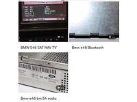 BMW E46 screen, Bluetooth and BM54 modules