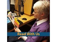 Volunteer Reader/Sound Technician for Daily Talking Newspaper Podcasts for the Blind