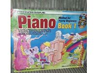 "Piano ""book 1"" method for beginners"