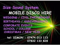 DISCO / MOBILE DJ - WEDDINGS - BIRTHDAYS - HOLD YOUR OWN HOUSE PARTY