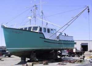 40 SPENCER LINCOLN OCEAN TRAWLER - moncton