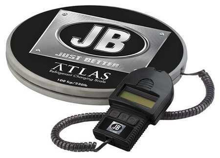 JB INDUSTRIES DS-20000 Refrigerant Scale,Electronic,220 lb