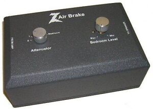 Dr Z Air Brake attenuator. Great tone at bedroom levels!
