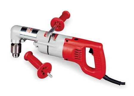 MILWAUKEE 3002-1 Right Angle Drill,1/2 In,400/900 RPM