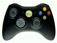 Microsoft Xbox360 controller with battery pack and chargering lead