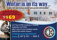 "Furnace  "" Clean & Check & Dispatch"" now ONLY $69!"