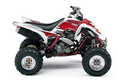 Raptor 660 graphics parts accessories ebay for Yamaha raptor parts