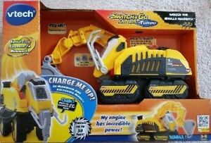 Vtech Turbo Digger Woolly Mammoth Construction Playset BRAND NEW