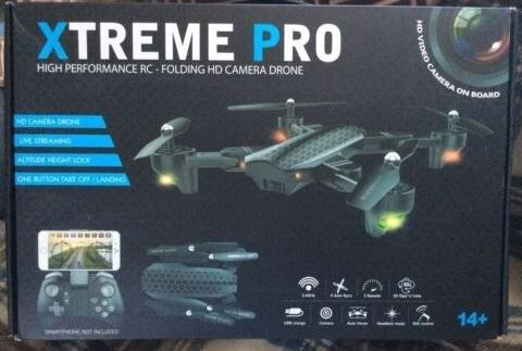 Xtreme Pro advance high performance rc folding hd camera drone | in  Clacton-on-Sea, Essex | Gumtree