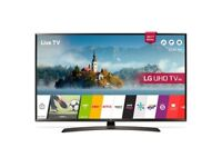49'' LG SMART 4K ULTRA HDR LED TV 49UJ635WEBOS AND FREESAT HD.FREE DELIVERY/SETUP.WARRANTY COVER