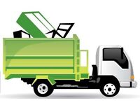 Cheap removal-skip runs-rubbish-shed-garden- site clearance
