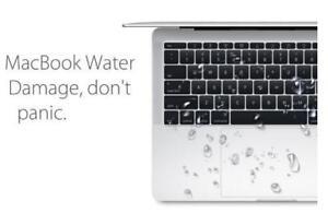WE FIX WATER DAMAGED MACBOOK, MACBOOK PRO, MACBOOK PRO RETINA!