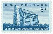 Booker T Washington Stamp