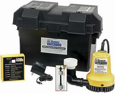 sump pump battery backup sump battery backup ebay 10345