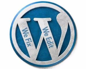 WordPress | We Make Changes | We Fix Errors | We Customize | Theme Customization | Setup Assistance