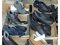 joblot of 100 pairs of brand new safety boots /shoes