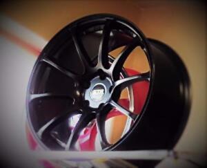 "NEW! CONCAVE - 18"" rim/tire audi a4 a5 a6 BMW 350z g35 370 CIVIC VW JETTA - STR610"