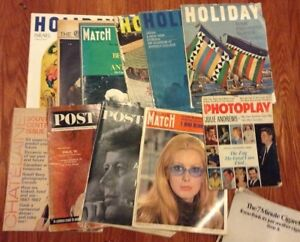 Vintage 1960s collectible magazines for sale