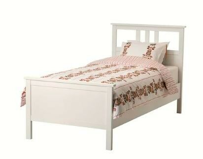 2 Ikea Hemnes Single Beds White With Slatted Bed Baseattresses Will