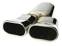 Universal car exhaust Backbox stainless steel