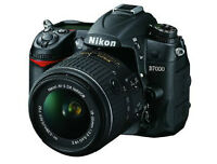 NIKON D7000 16.2 MP CAMERA + 18-55 MM VR DX