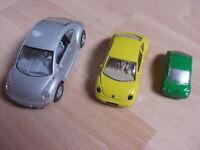 VW Käfer / New Beetle Metallautos (3 Stück) Nordrhein-Westfalen - Dinslaken Vorschau