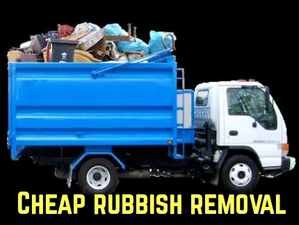 Cheapest rubbish removal service