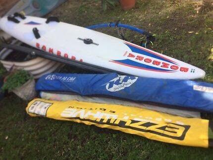 Bombora 295 windsurfer