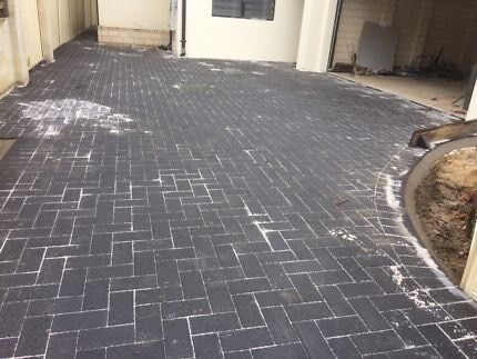 Wanted: WANTED - Grey/Charcoal Pavers