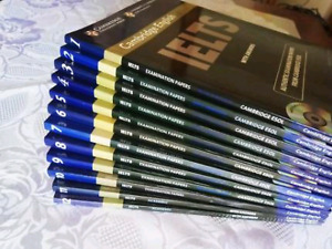 Sale Cambridge IELTS (1-12) Academic&General with DVD (Not Used)