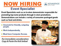 Event Specialist Part Time Canada