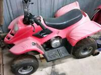 loncin quad good runner swap bike no mini motos