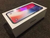 BRAND NEW SEALED APPLE iPhone X 256gb UNLOCKED/ SIM FREE, WITH PROOF OF PURCHASE £1,150.00