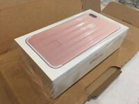 Brand new I phone 7 32gb rose gold