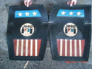 Jeep AMC CJ, YJ floor mats