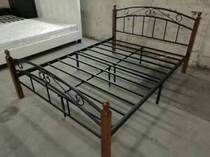 Iron Bed Frame From only $130 S/D/Q Sizes Available Melbourne CBD Melbourne City Preview