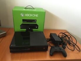 microsoft xbox one console few months old black with call of duty xb1 game or fifa
