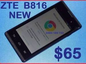 NEW ZTE B816. 3G UNLOCKED  4 INCH  2MPX CAMERA O $65 Castle Hill The Hills District Preview