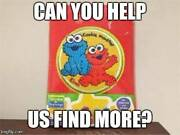 Wanted Elmo and Cookie Monster blanket Bridgetown Bridgetown Area Preview