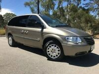 LHD LEFT HAND CHRYSLER GRAND VOYAGER STOW AND GO 10/2005 AUTOMATIC 7 SEATER CLEAN MPV