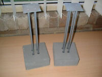 Heavy duty Speaker stands ONLY £10 for FOUR *****PRICE REDUCED*****