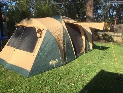 Coleman Chalet 9 XL CV & Coleman Chalet 9 CV Camping Tent | Camping u0026 Hiking | Gumtree ...