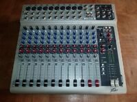 Peavey PV14 USB 14 Channel Mixer With Digital Output & Effects Including Cables