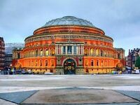 Commis Chef for rhubarb at the Royal Albert Hall