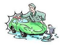CAR CLEANING, WAXING, SHAMPOOING, DETAILING