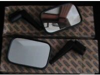 land rover defender mirrors pair