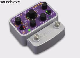 Sound Audio SoundBlox 2 Manta Bass Filter Pedal OPTIONAL HOTHAND AND RECEIVER FOR £50